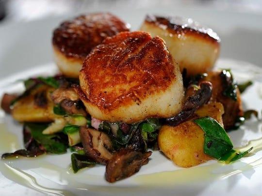 Try the scallops at Josephine's, one of Nashville's favorite restaurants.