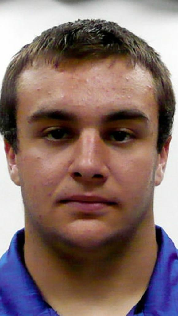 Ziba Topper, Spring Grove offensive lineman