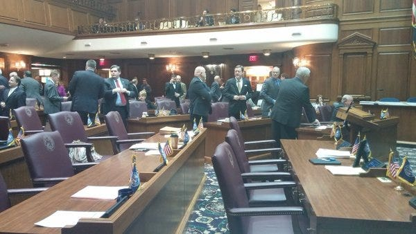The final day of this session of the Indiana Legislature is Thursday.