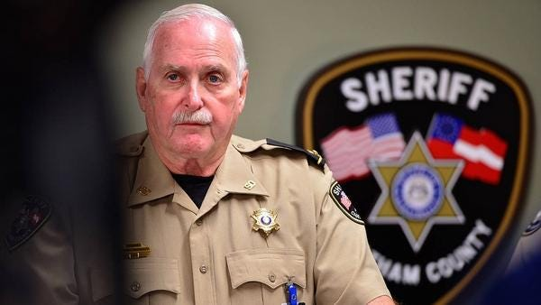 Chatham County Sheriff John Wilcher is running unopposed in the 2020 general election.
