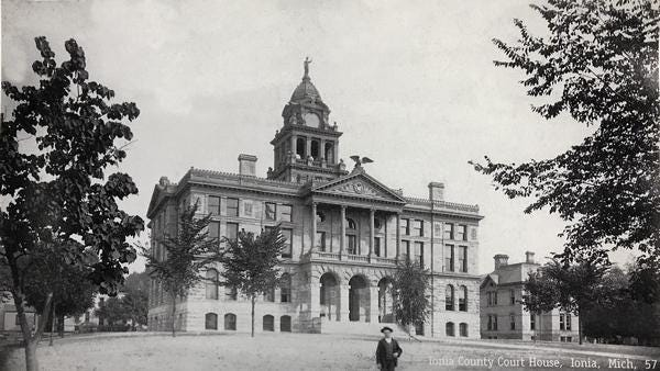 The Ionia County Courthouse