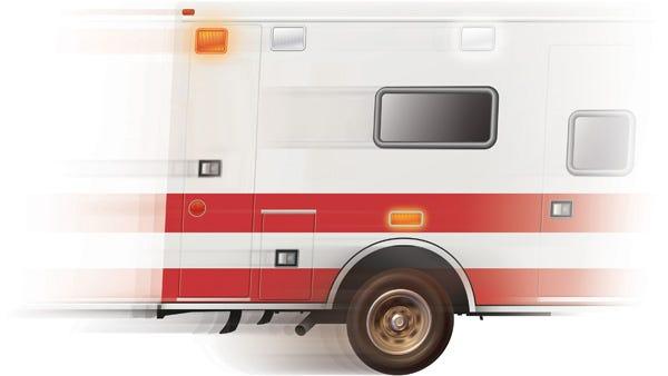 Ambulance illustration.