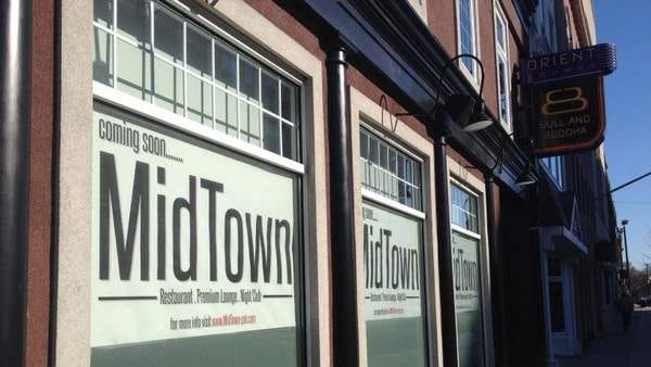 MidTown is expected to open in March on the site of the former Bull and Buddha.
