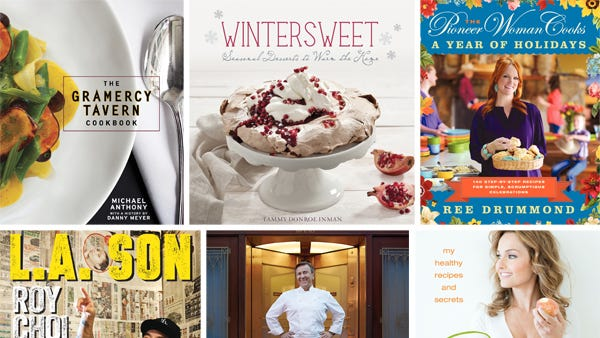 Cookbooks spice up the holiday season.
