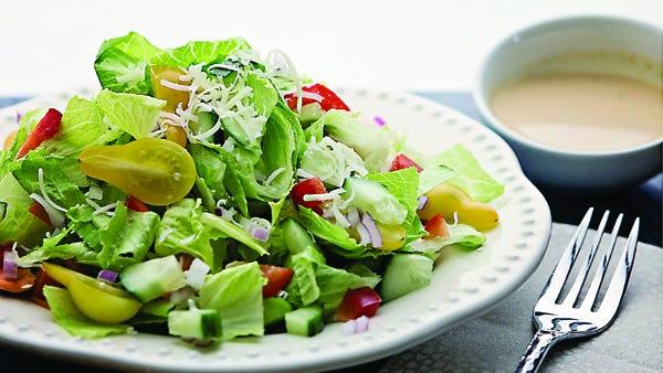 A light salad for a hot summer.