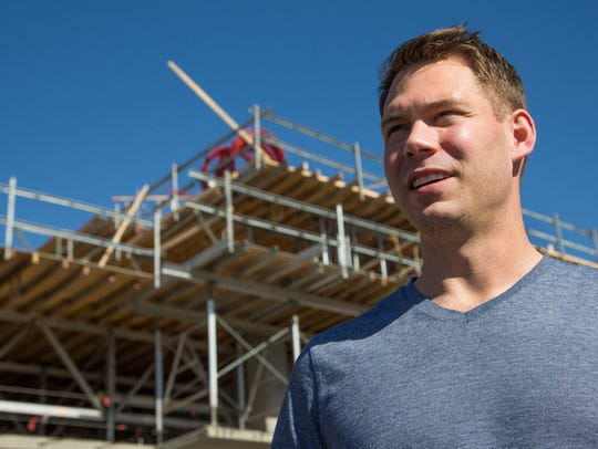 Sean Coleman, 30, has purchased a condo under construction