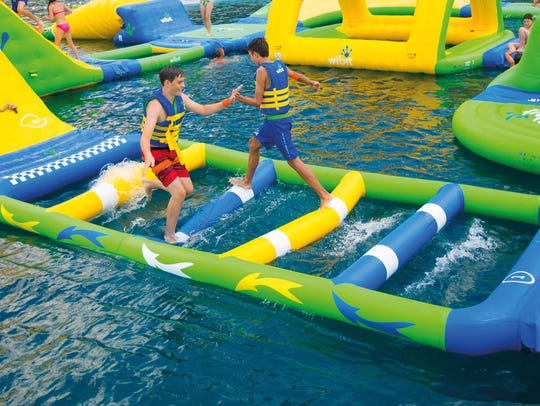 Wibit inflatables will be a new feature this summer