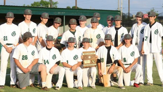 Greenbrier won its first Region 5-AA championship in 2017.