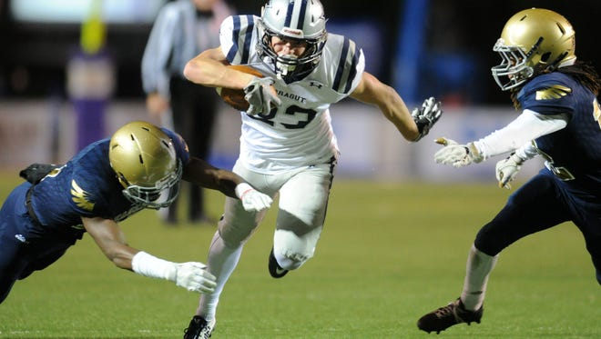 Farragut's Braden Collins has more than 20 college offers.