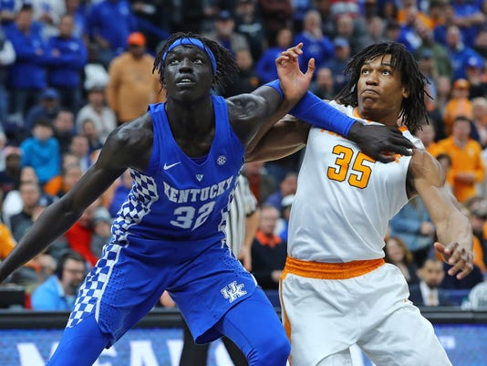NCAA Basketball: SEC Conference Tournament Championship-Tennessee vs Kentucky