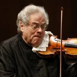 Violinist Itzhak Perlman will perform at the Westchester County Center, Jan. 30, 2016.