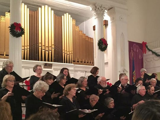 The Rhinebeck Choral Club is open to both men and women.