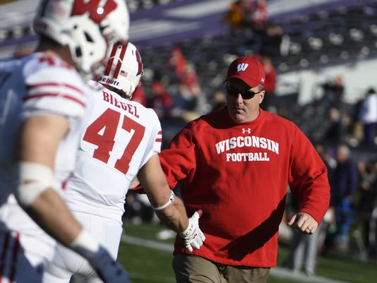 Paul Chryst, Vince Biegel