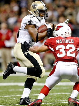 Tyrann Mathieu and the Cardinals will open their 2015 season against the New Orleans Saints.