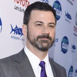 Jimmy Kimmel will be Kelly Ripa's first guest co-host on May 16, after Michael Strahan steps down.