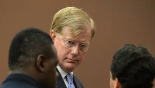 U.S. District Court Judge Mark Fuller appears in Fulton County Court in this file photo.