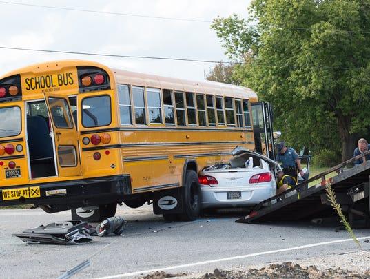 News: School bus accident