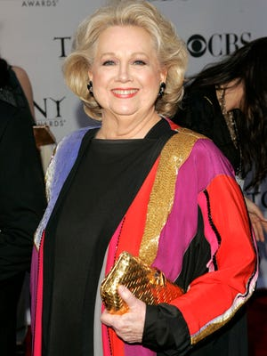In this June 11, 2006 file photo, actress Barbara Cook arrives at the 60th annual Tony Awards in New York. Cook, whose shimmering soprano made her one of Broadway's leading ingenues and later a major cabaret and concert interpreter of popular American song, has died. She was 89.