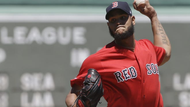 Red Sox ace Eduardo Rodriguez, shown in 2019 action, has recovered from COVID-19.