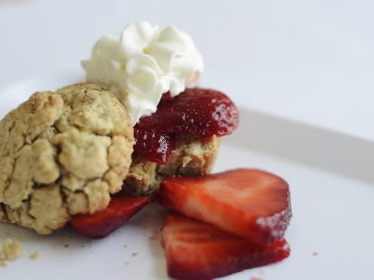 Try this lightened up version of strawberry shortcake. DAILY RECORD/SUNDAY NEWS - KATE PENN