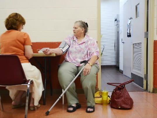 An upcoming health fair will focus on aging adults in York County. FILE - DAILY RECORD/SUNDAY NEWS