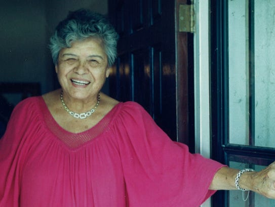 Eva Camunez Tucker was most well-known in San Angelo
