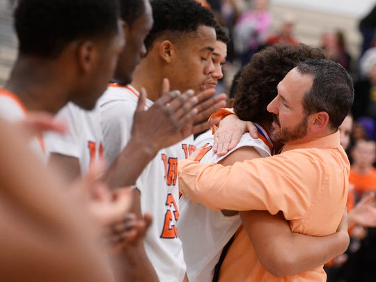 """Head coach Troy Sowers has fostered a family atmosphere within the William Penn program. """"We've gotten our kids to focus on a lot of the team aspects,"""" he said during a recent interview. """"We really believe in that formula."""""""