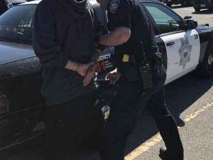 Salinas police arrested Jesus Avalos, 19, on suspicion