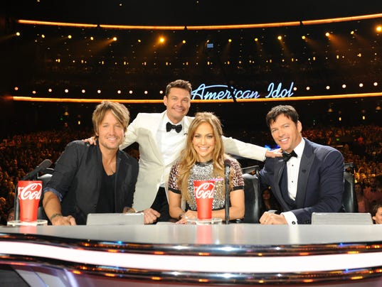 Idol judges and Seacrest