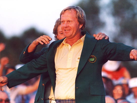 Jack Nicklaus won his record sixth Masters in 1986.