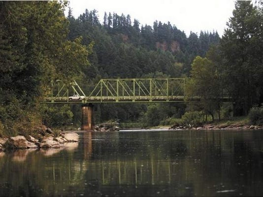 Sandy River at Lewis and Clark State Park in Troutdale