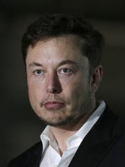 Tesla CEO and founder Elon Musk