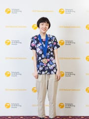 Pingry junior Nancy Lu of Bridgewater won a National Gold Medal in the 2015 scholastic art and writing awards.