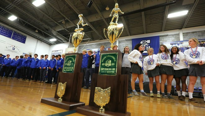 Summit is only the fourth school in Ohio High School Athletic Association history to win both titles the same year.