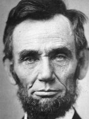 Abraham Lincoln, seen on Nov. 8, 1863.