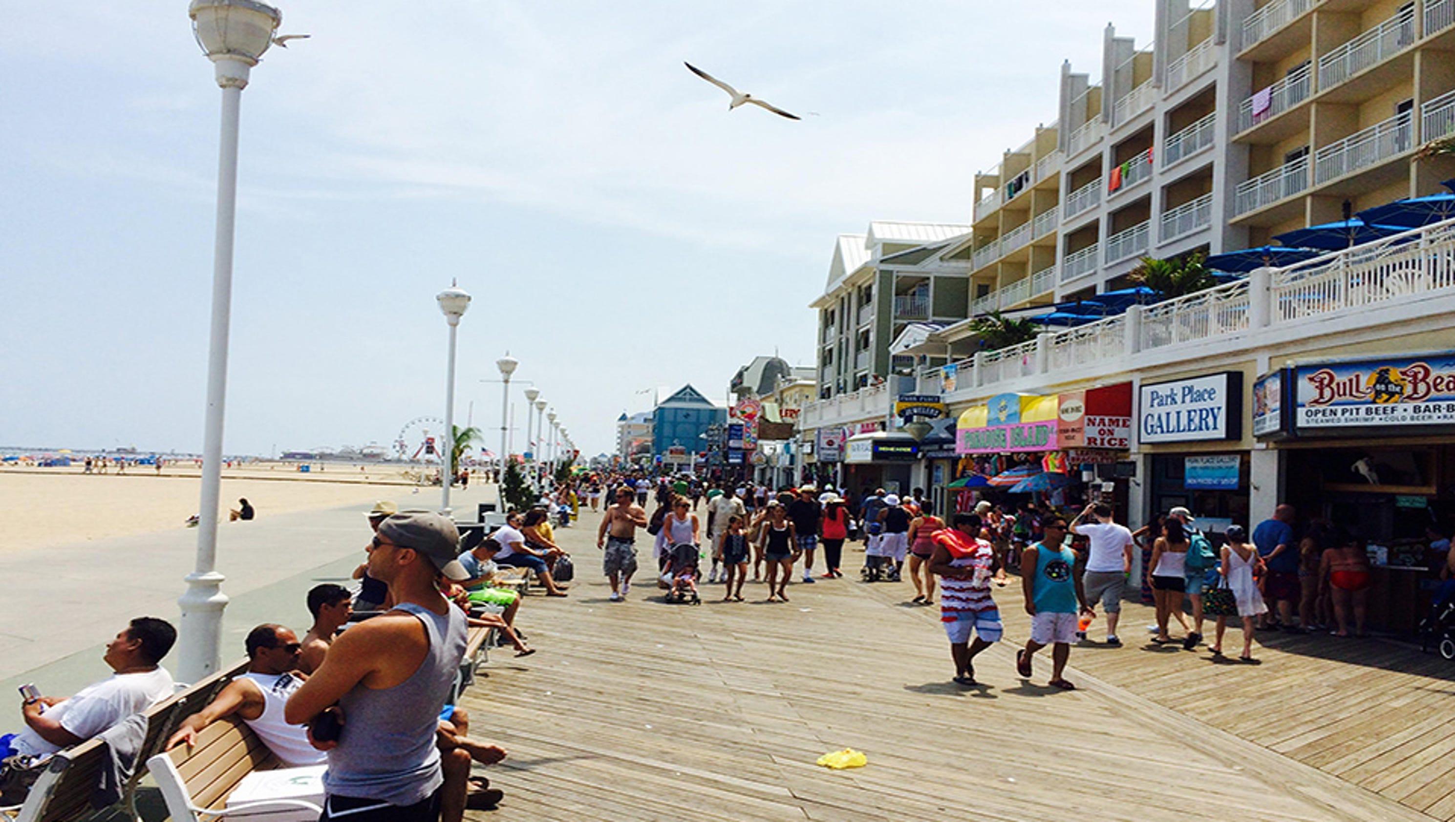 College Beach Weekend  Ocean City