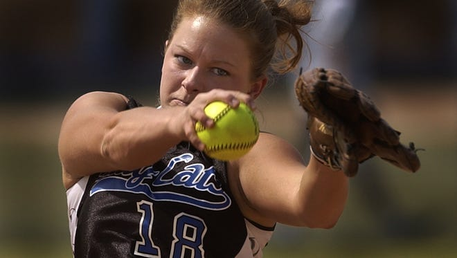 Woodmont High School Athletic Hall of Fame inductee Jenna Kellett was all-conference from 1999-2004 and had her No. 18 jersey retired.