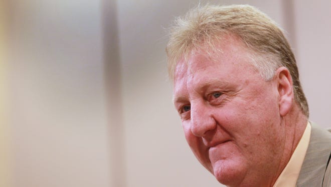 FILE - Larry Bird made the biggest move in the league at Thursday's NBA trade deadline, acquiring Evan Turner and Lavoy Allen for Danny Granger and a future second round pick.
