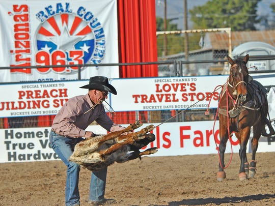 The Buckeye Days Senior Pro Rodeo Will Take Place On