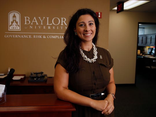 Patty Crawford, shown in her role as Baylor University's