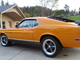 1970 Ford Mustang Mach 1 Fastback: This restored Ford Mustang  was stored inside for more than 27 years and features a V-8 engine with a heavy-duty, three-speed automatic transmission.