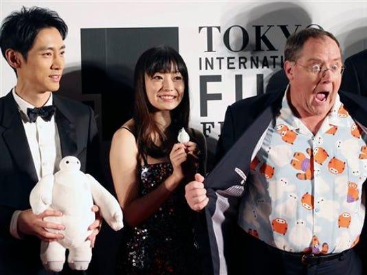 John Lasetter, Miho Kanno, Kotaro Koizumi