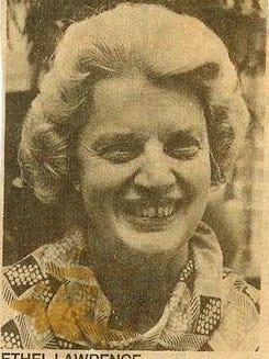 Ethel Lindemood Lawrence, 93