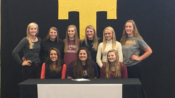 Tuscola senior Allison Plafcan has signed to play softball