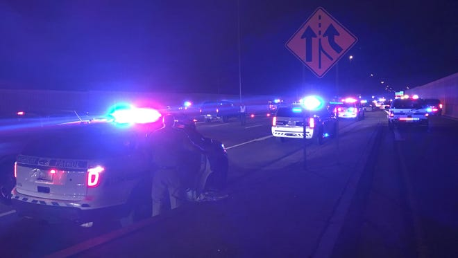 Interstate 17 was closed at Thomas Road in Phoenix on Dec. 26, 2016 after an officer-involved shooting.