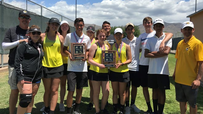 Alamogordo's tennis teams are headed to the state tourney in Albuquerque today with competition starting Wednesday.