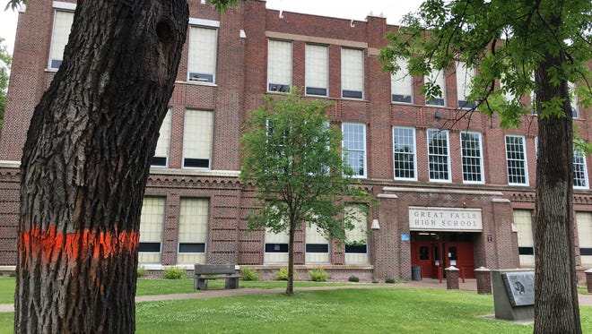 A stop work order was placed against Great Falls Public Schools' work at Great Falls High for beginning construction before the City approved its permits.