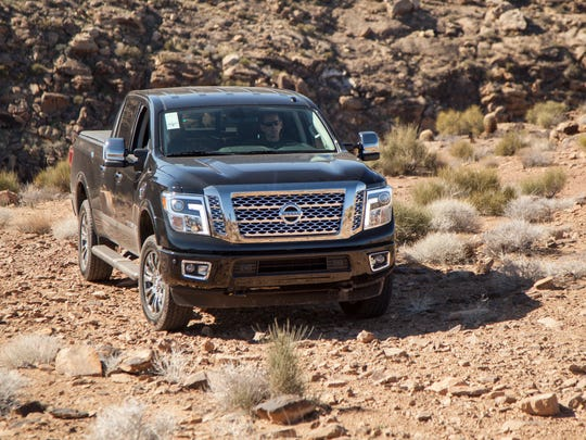 The Spectrum & Daily News reporter Jud Burkett takes the new Nissan Titan out for a test drive Thursday, Feb. 4, 2016.