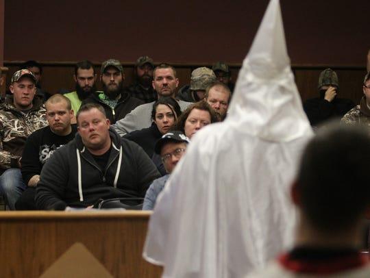 Klan meeting
