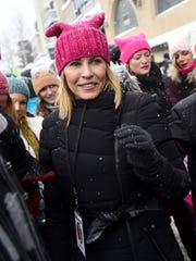 Chelsea Handler participates in the Women's March in